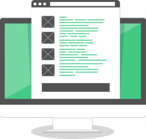 Landing Page. Textos de calidad.